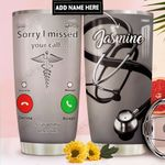 Nurse Calling Personalized DNR1911016 Stainless Steel Tumbler