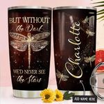 Dragonfly Personalized NNR1911010 Stainless Steel Tumbler