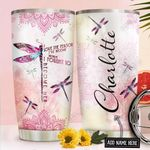 Dragonfly Personalized NNR1911011 Stainless Steel Tumbler