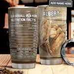 Baseball Facts Personalized MDA1911011 Stainless Steel Tumbler