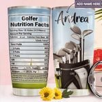 Golf Facts Personalized MDA1911008 Stainless Steel Tumbler