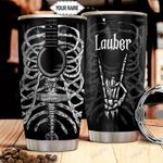 Skull Guitar Personalized THA1911019 Stainless Steel Tumbler