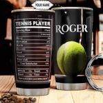 Tennis Facts Personalized THA1911016 Stainless Steel Tumbler