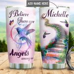 Personalized Hummingbird Angel HHZ1911018 Stainless Steel Tumbler