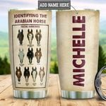 Personalized Arabian Horse Facial Mark HHZ1911003 Stainless Steel Tumbler