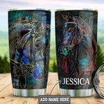 Personalized Horse HLZ1911015 Stainless Steel Tumbler