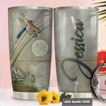 Ceramic Dragonfly Personalized PYR1911009 Stainless Steel Tumbler