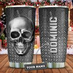 Silver Style Skull Personalized KD2 ZZL1911011 Stainless Steel Tumbler