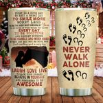 Horses Never Let You Walk Alone KD2 ZZL1911005 Stainless Steel Tumbler
