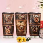 3D Picture Yorkshire Terrier KD2 HAL1911001 Stainless Steel Tumbler