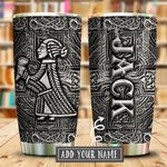 Viking Valkyrie Metal Style Personalized KD2 KHM1911009 Stainless Steel Tumbler