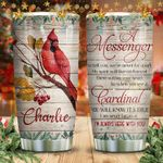 From Cardinal Husband Personalized KD2 HNM2011004 Stainless Steel Tumbler
