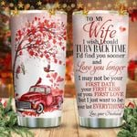 Christmas Cadinal To My Wife KD2 HNM2011001 Stainless Steel Tumbler