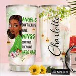 Afro Personalized NNR2011001 Stainless Steel Tumbler