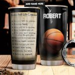 Basketball Lessons Personalized DNR2011003 Stainless Steel Tumbler
