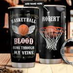 Basketball Personalized DNR2011004 Stainless Steel Tumbler