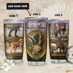 Dinosaur Personalized DNR2011013 Stainless Steel Tumbler