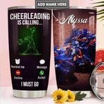 Cheerleader Personalized PYR2011009 Stainless Steel Tumbler