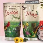 Hummingbird Personalized PYR2011016 Stainless Steel Tumbler