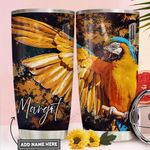 Parrot Personalized PYR2011023 Stainless Steel Tumbler