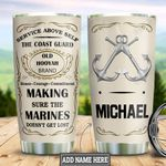 Personalized US Coast Guard HHZ2011024 Stainless Steel Tumbler