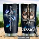 Personalized Fe Warrior TTZ2011016 Stainless Steel Tumbler