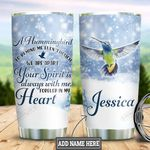 Personalized Hummingbird In My Heart HLZ2011020 Stainless Steel Tumbler
