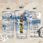 Personalized Butterfly Faith Imagine TTZ2011011 Stainless Steel Tumbler