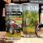 Tractor Personalized MDA2011005 Stainless Steel Tumbler