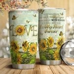 Faith Butterfly HTC2011006 Stainless Steel Tumbler