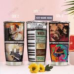 Piano Frame Personalized TAS2011006 Stainless Steel Tumbler