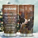 Dairy Cattle Couple Husband KD2 HAL2011009 Stainless Steel Tumbler