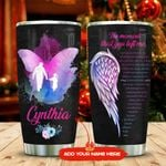 Butterfly Daddy And Daughter Personalized KD2 MAL2011007 Stainless Steel Tumbler