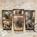 3D Picture Elephant KD2 HAL2011004 Stainless Steel Tumbler