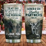 For My Dad Hunting KD2 ZZL2011010 Stainless Steel Tumbler