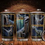 3D Picture Dinosaur T rex KD2 HAL2011001 Stainless Steel Tumbler