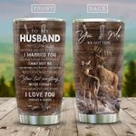 Deer Couple To Husband KD2 HAL0611006 Stainless Steel Tumbler