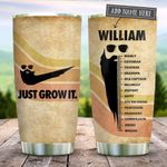 Beard Just Grow It Personalized KD2 BGX1612002 Stainless Steel Tumbler