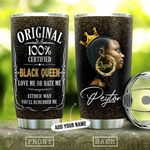 Black Queen KD4 Personalized THA1612003 Stainless Steel Tumbler