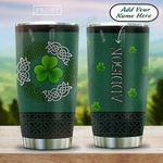 Irish Clover Celtic Pattern Personalized HAB1612007 Stainless Steel Tumbler