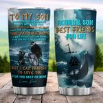 Father And Son Best Friend For Life ZZB1512001 Stainless Steel Tumbler
