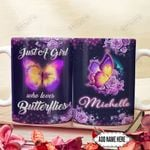 Butterfly Lover Personalized DNR1712002 Full Color Ceramic Mug