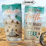 Turtle Faith Personalized NNR1712010 Stainless Steel Tumbler
