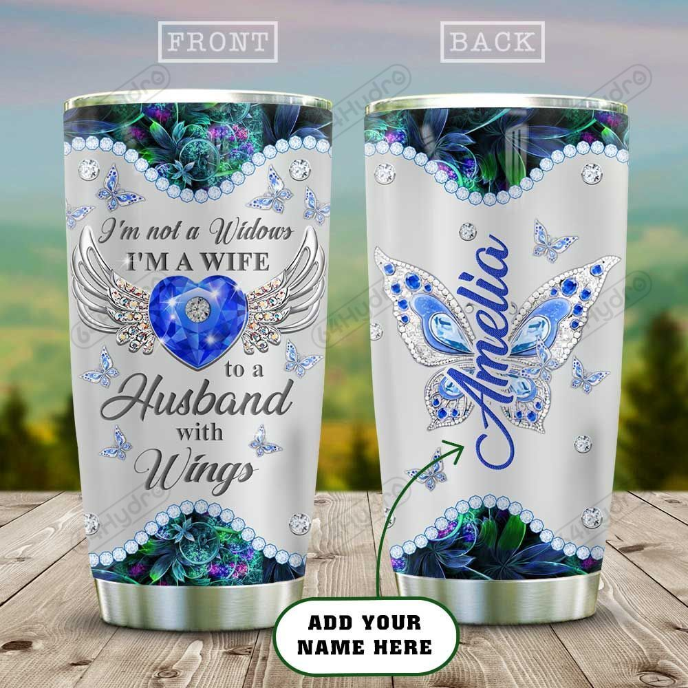 Im Not A Widow Wife Galaxy Metal Style Personalized HAB1712002 Stainless Steel Tumbler
