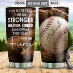 Baseball This Year Personalized HHS1712002 Stainless Steel Tumbler