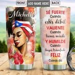 PR Black Women Personalized HHS1712011 Stainless Steel Tumbler