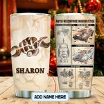 Mechanic Knowledge Personalized KD2 MAL1712006 Stainless Steel Tumbler