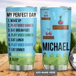 Personalized Video Game Lover Day PYZ1812022 Stainless Steel Tumbler