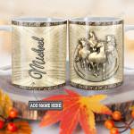 Personalized Horse Bronze Style TTZ1812032 Full Color Ceramic Mug