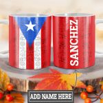 Personalized Puerto Rico HLZ1812036 Full Color Ceramic Mug
